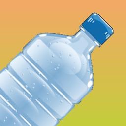 Water Bottle Flip Bouncing Challenge Diving 2k16