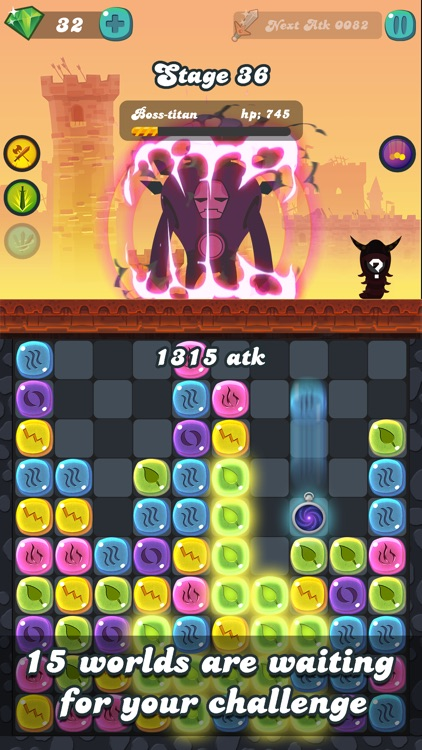 Diamond Blast Puzzle-Pop Clicker! Pro