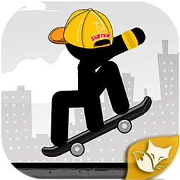 Stickman Skater Master- Free 360 epic city game by