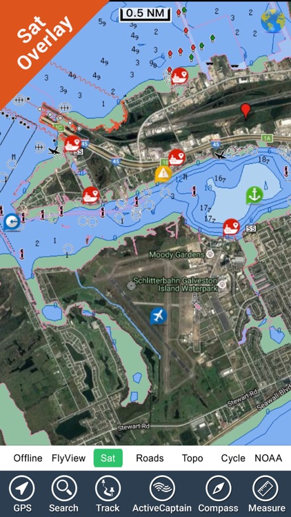 Marine : Texas HD GPS Map Navigator