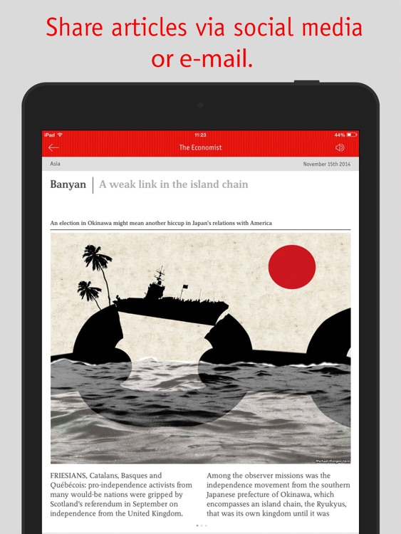 The Economist Classic (AP) screenshot-4