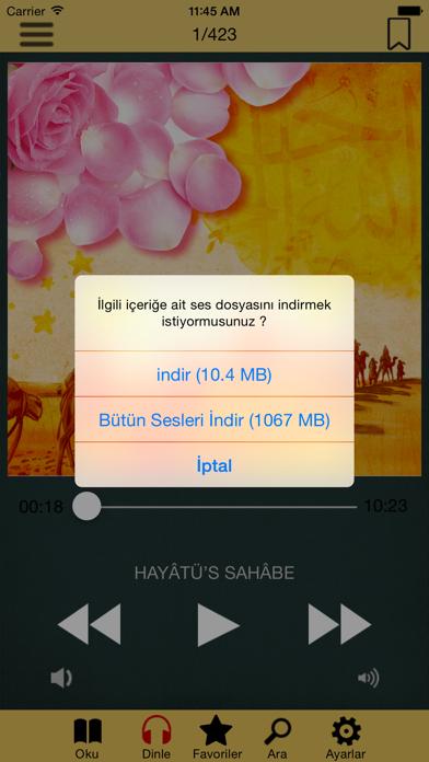Hayatü's Sahabe screenshot four