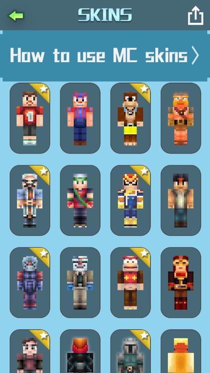 MCSkinsBox ~ Boys Girls Skins for Minecraft PE