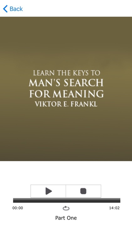 Man's Search For Meaning Viktor Frankl Meditations screenshot-3