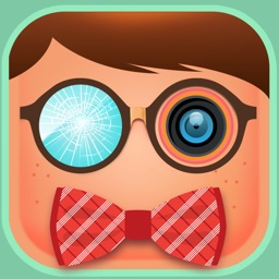 Geek Booth & Sticker Photos in Get Ugly Face Maker