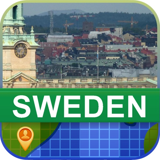 Offline Sweden Map - World Offline Maps