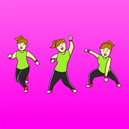 Zumoji Dancing & Fitness emoji Stickers