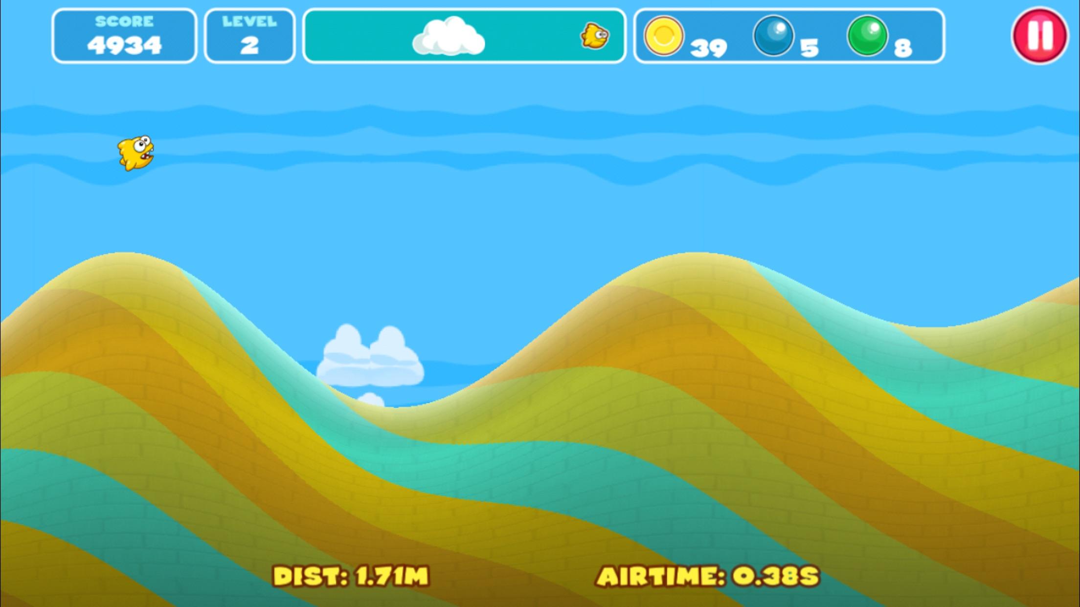 Yellow Fins Screenshot