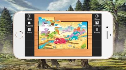 Dino Puzzle Jigsaw Toddlers Kids Preschool Games