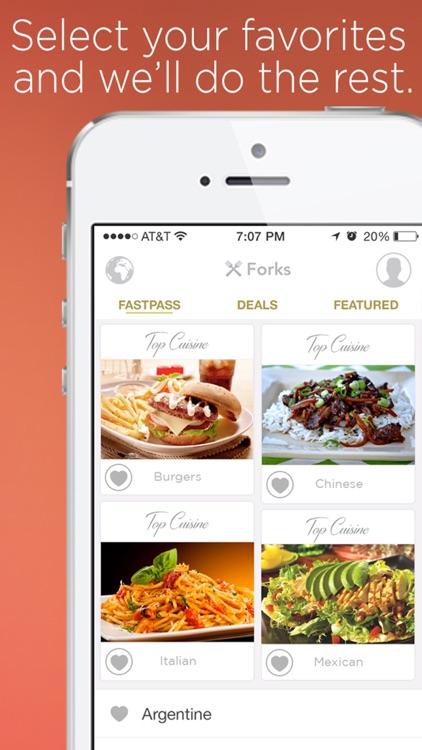 Forks Restaurant Coupons Food Deals Ft Groupon By Cvl