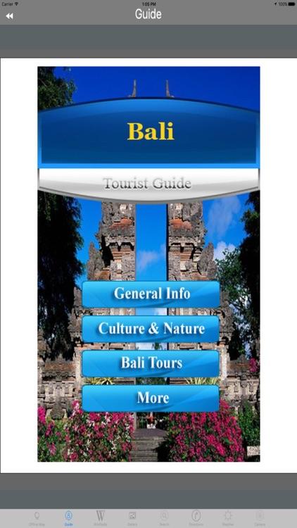 Bali Indonesia Tourist Travel Guide screenshot-3