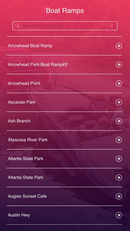 Texas Boat Ramps screenshot-1