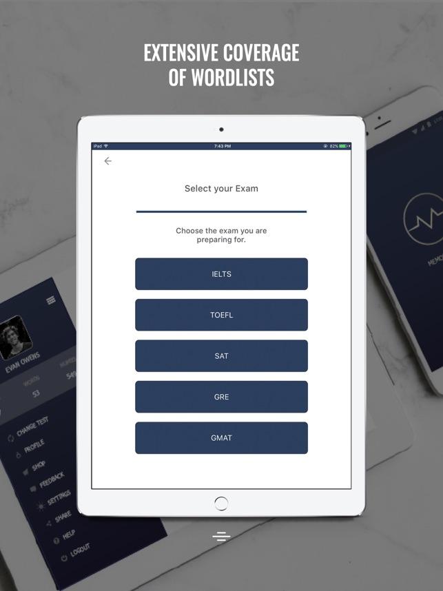 Memorytrix - Vocabulary Preparation Screenshot