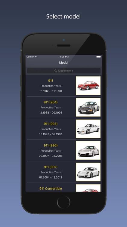 TechApp for Porsche