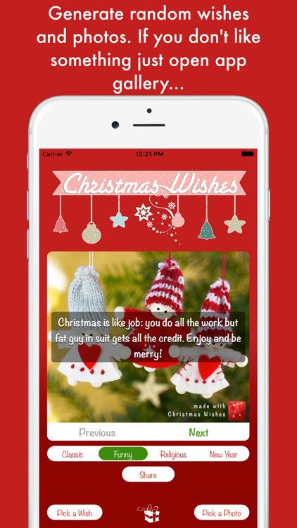 Christmas Wishes - create your custom cards
