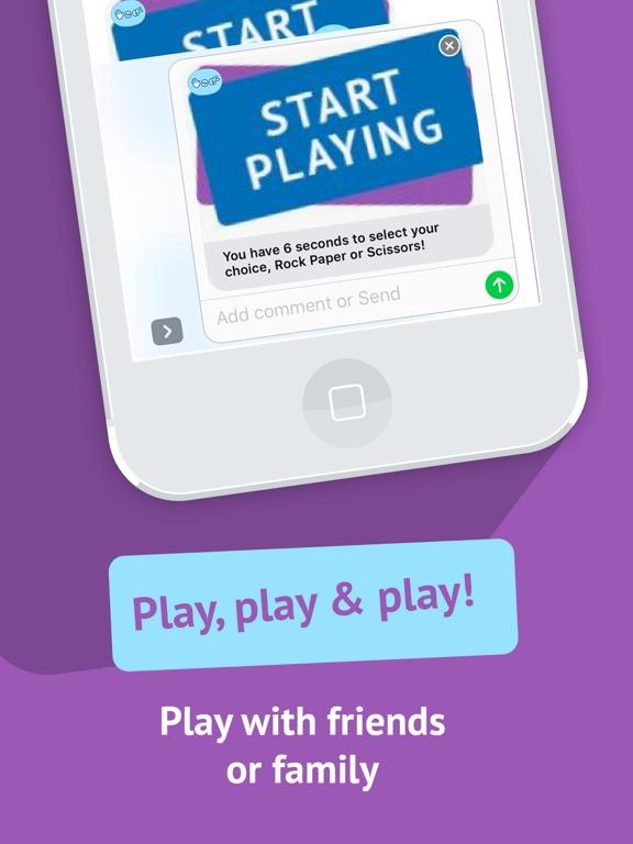 Rock paper scissors - best stickers game, free RPS   App