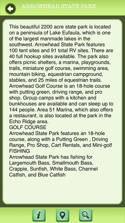 Oklahoma - State Parks & National Parks Guide screenshot-3