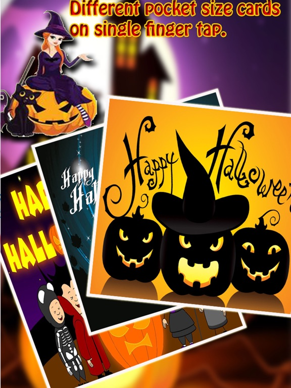 Free happy halloween day cards greetings wishes app price drops screenshot 2 for free happy halloween day cards greetings wishes m4hsunfo