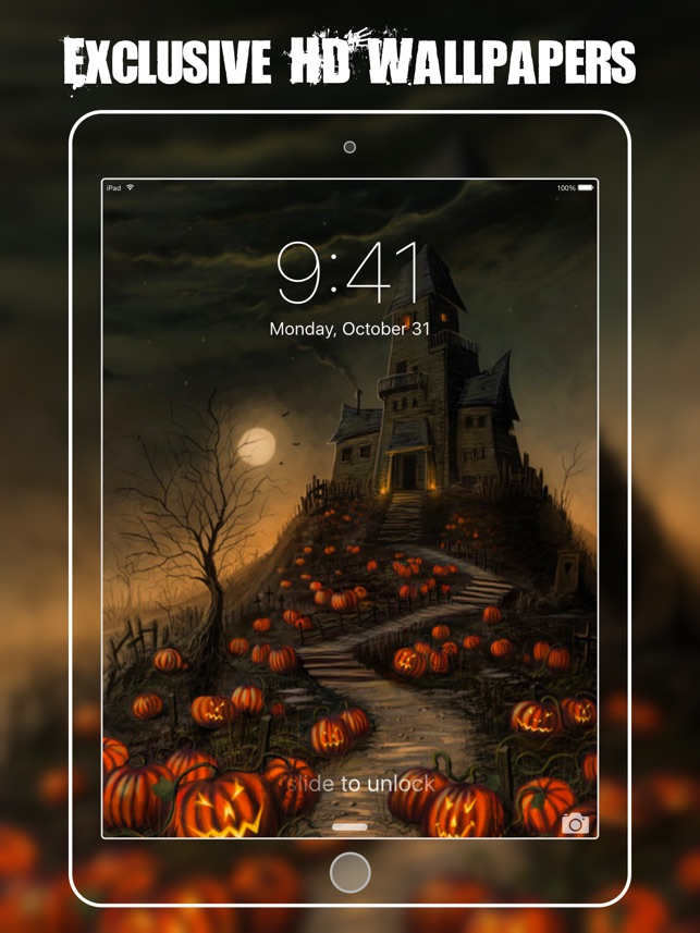 Hd Halloween Wallpapers Backgrounds Free On The App Store