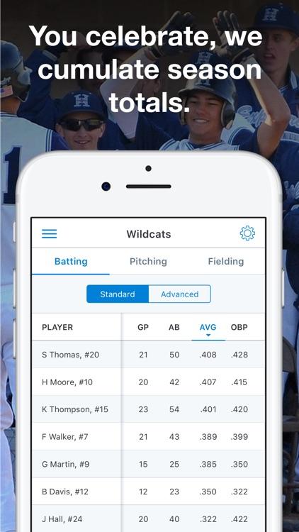 GameChanger Baseball & Softball Scorekeeper app image