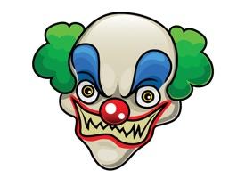 Killer Clowns Stickers