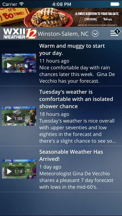WXII 12 Weather screenshot-1