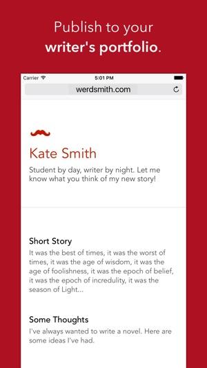 Werdsmith on the App Store