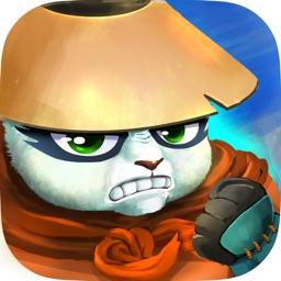 Ninja Panda Jump - Icy Revenge with Monkey King