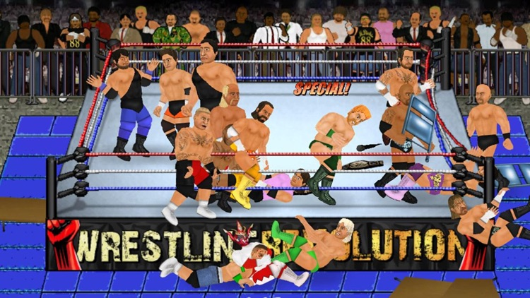 Wrestling Revolution Pro screenshot-0
