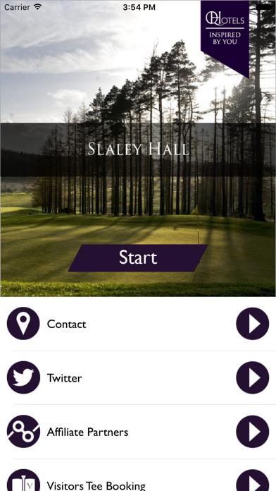 QHotels: Slaley Hall screenshot one