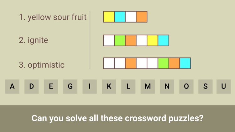 Trio Crossword screenshot-4