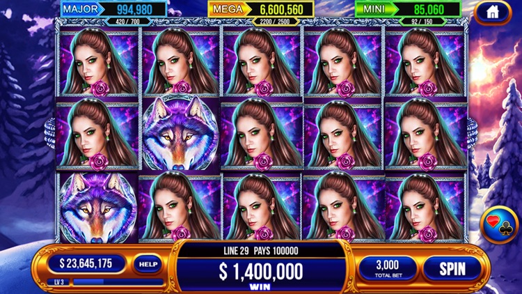 Slots Casino - Feeling Zeus Power Slots,Colorful Fish Slots in vegas. screenshot-3