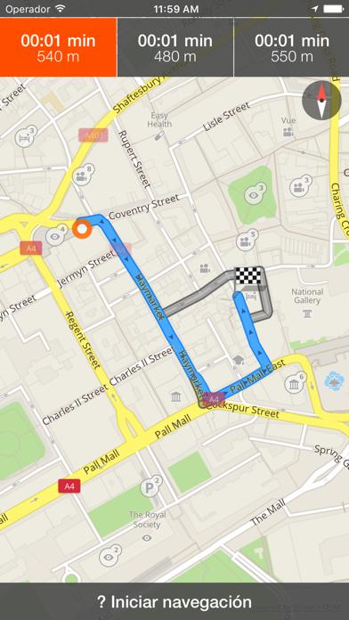 Santiago de Queretaro mapa offline y guía deCaptura de pantalla de3