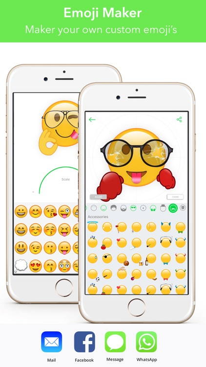 Stickers App Funny Text Moji for iMessage & WeChat screenshot-2