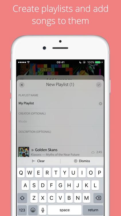 Mode Music Player screenshot-3