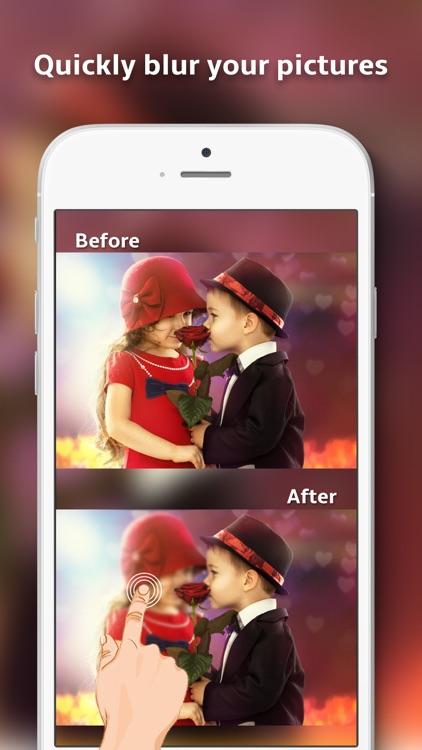Blurr it- photo blur effect editor & touch to blur