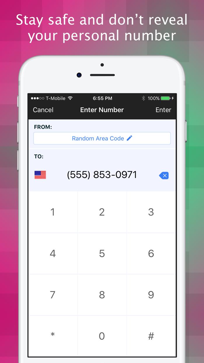 Texting Shield - Phone Number Screenshot