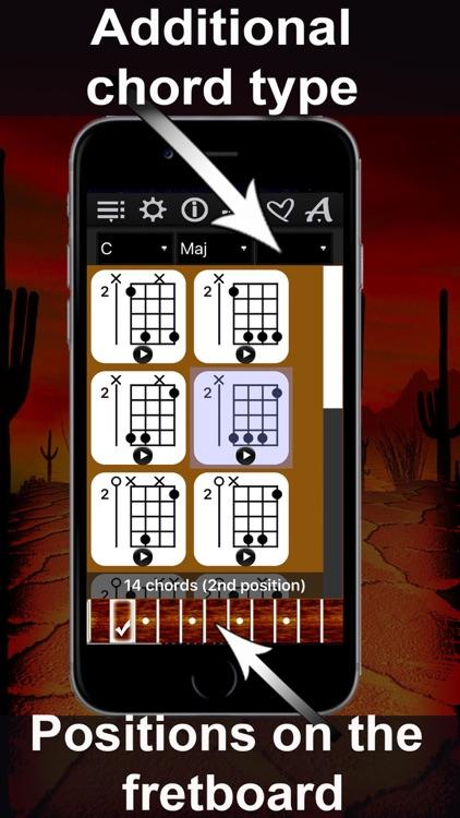 Banjo Chrods Compass: lots of chord charts screenshot-3