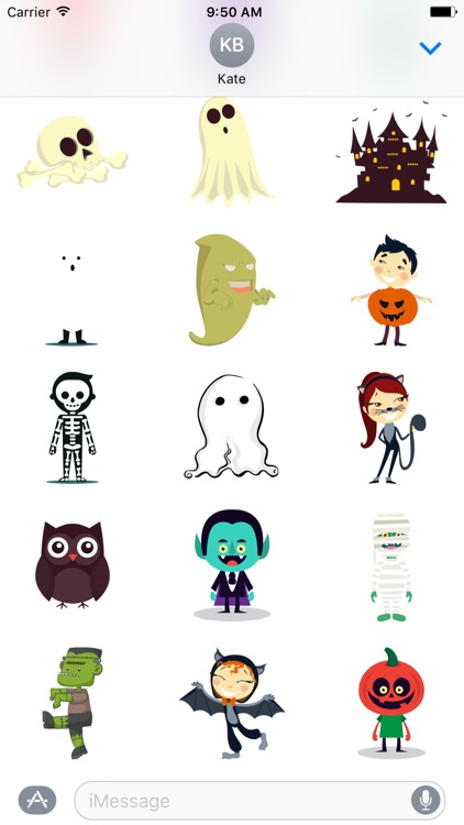 Halloween Characters - Fx Sticker screenshot-3