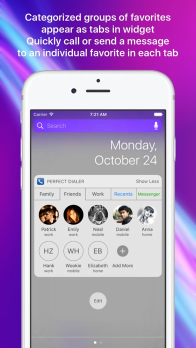 download Perfect Dialer - Favorites Widget Dial & SMS apps 0