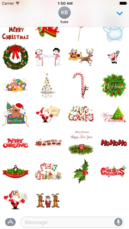 Funny Christmas Stickers for iMessage screenshot-4