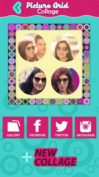 Pic.ture Grid Collage: Best Effects & Filters