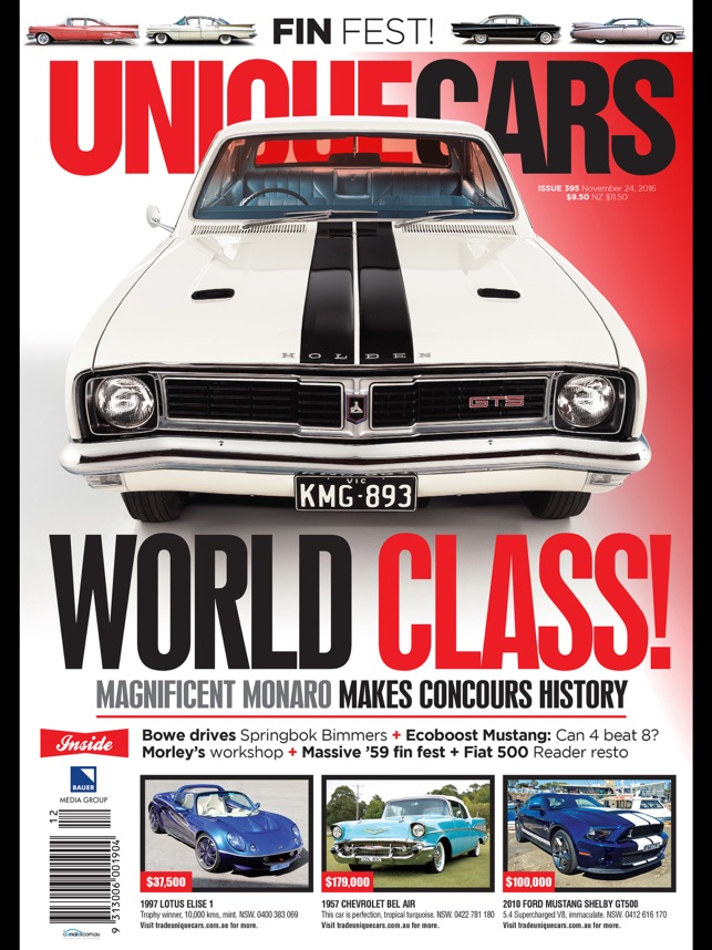 Unique Cars Australia on the App Store