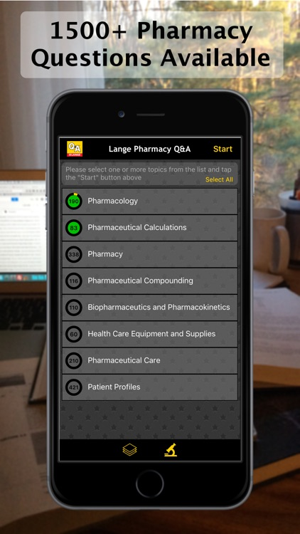 Pharmacy LANGE Q&A screenshot-0