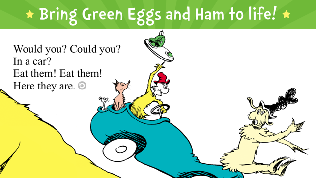 ‎Green Eggs and Ham Screenshot