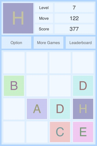 Alphabet 2048 screenshot 2