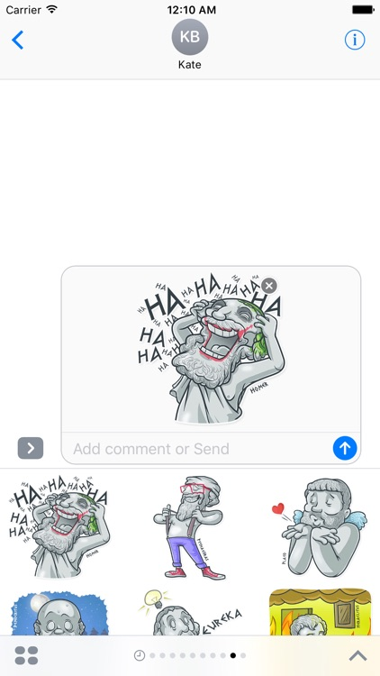 Ancient Greeks - Stickers for iMessage