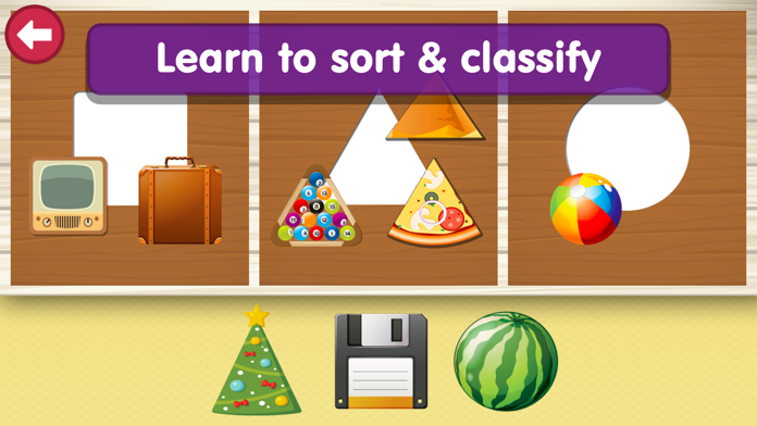Shapes & Colors Learning: Free Toddler Kids Games Screenshot