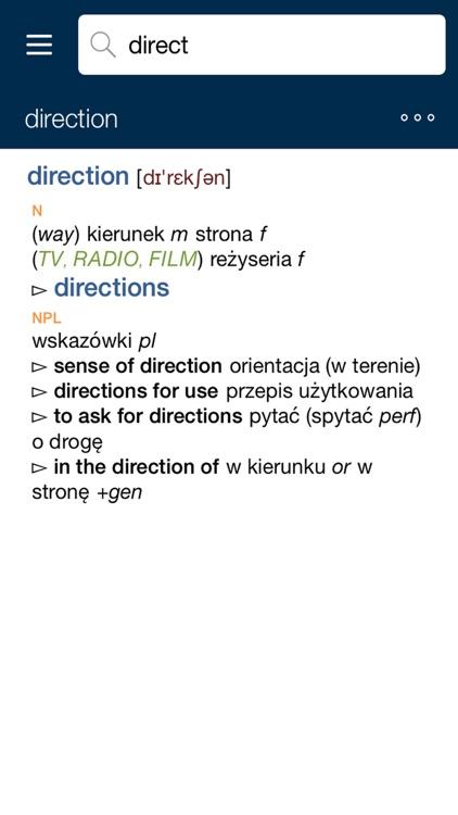 Collins Polish Dictionary