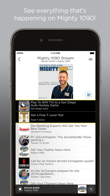 Image result for mighty 1090 app